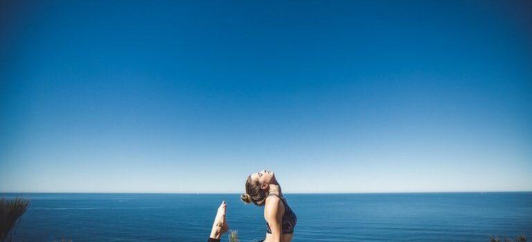 Добра постелка за йога тренировки